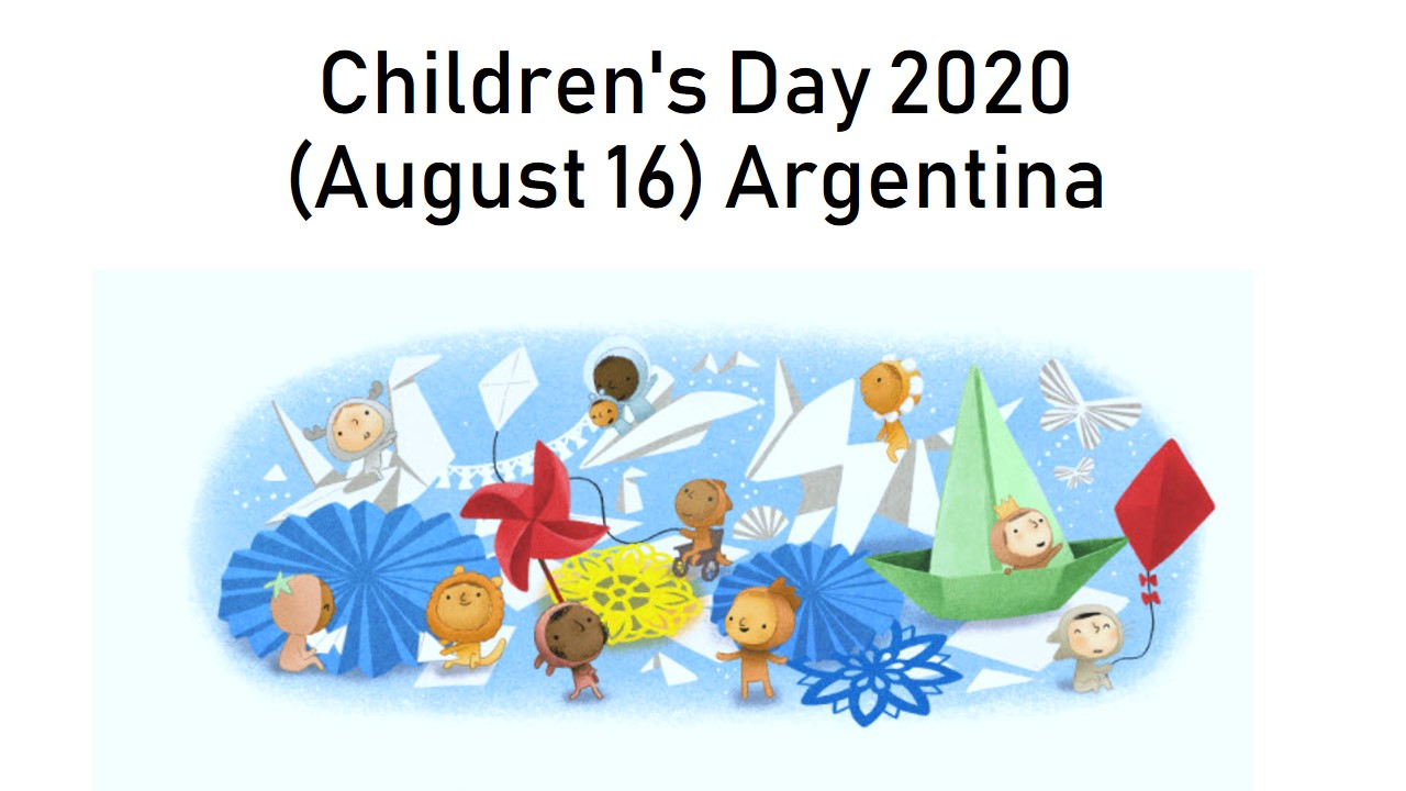 Children's Day 2020 Argentina